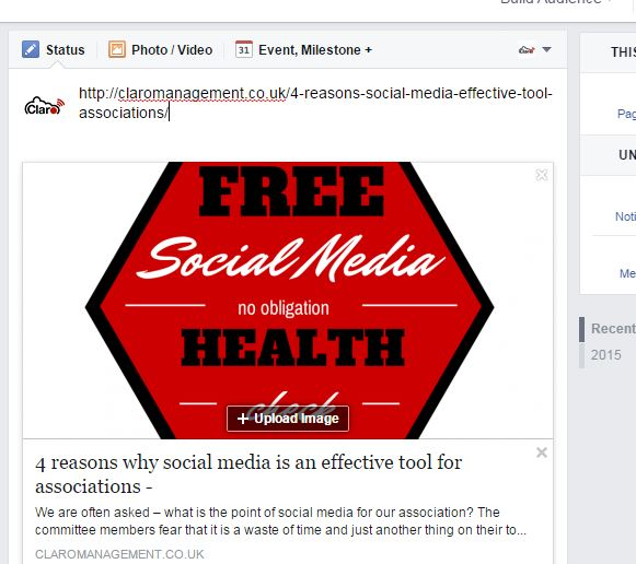 3 ways to show a link you are sharing in Facebook